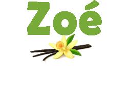 Logo zoe vanille